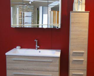 Bäderstudio Passail – Waschtisch mit Spiegelschrank,...