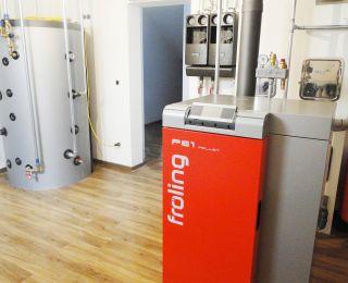 Biomasseheizung, Pelletsheizung – Neudorf b. Passail